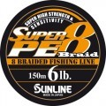 Super PE 8 Braid 150� 0.185�� 12Lb/6�� ���� Sunline